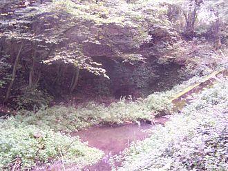 Butterley Tunnel - The Eastern Portal of Butterley Tunnel in 2006