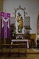 Bytom Sacred Heart church St Joseph statue 2021.jpg