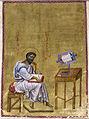 Byzantine - Evangelist Mark Seated in his Study - Walters W530A.jpg