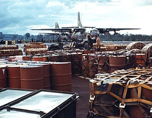 309th Airlift Squadron - Squadron C-123K during the Cambodian Campaign