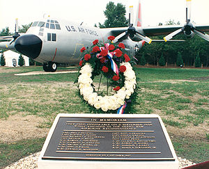Hercules C-130 aircraft on display at National Vigilance Park