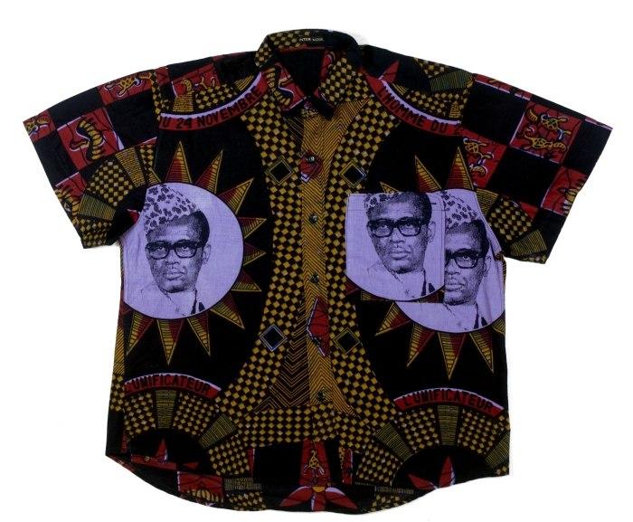 COLLECTIE TROPENMUSEUM Katoenen overhemd met portret van Mobutu TMnr 5829-1.jpg