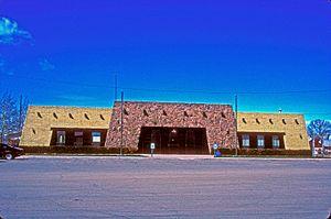 Conejos County, Colorado - Image: CONEJOS COUNTY COURTHOUSE, CONEJOS, COLORADO