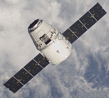 Dragon approaching ISS on 25 May.