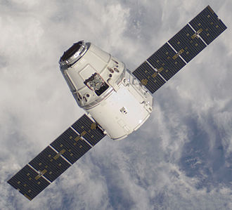 SpaceX Dragon - Image: COTS2Dragon.6