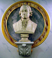 Carl Philipp Emanuel Bach, Büste im Konzerthaus Berlin (Quelle: Wikimedia)
