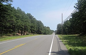 County Route 528 (New Jersey) - Image: CR 528 in Jackson Twp