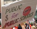 CTU Strike 'Public $ for Public Schools' Sign.jpg