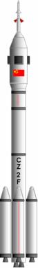 Bemandet og ubemandet variant af Chang Zheng 2F/G