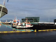 C Arrival of Thor - Icelandic Coast Guard 2011-10-27 Reykjavik
