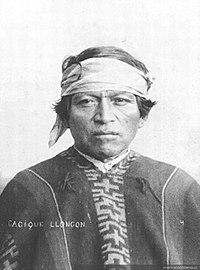 Un lonco mapuche a finales del siglo XIX