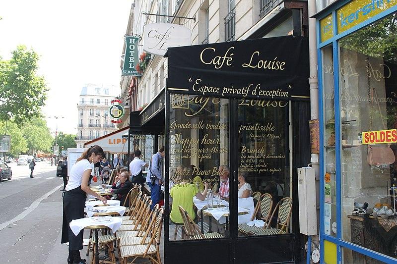 Caf Ef Bf Bd Louise Paris