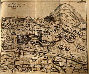 Siege of Cahir Castle - Siege of Cahir Castle in 1599.