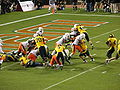 Cal on offense at 2008 Emerald Bowl 20.JPG