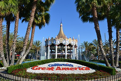 How to get to California'S Great America with public transit - About the place