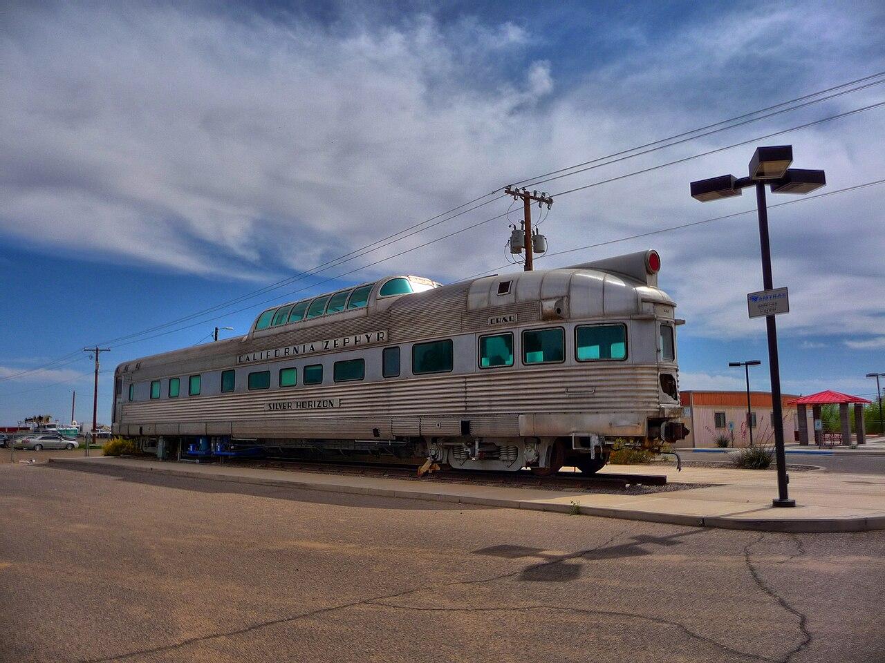 History california zephyr train