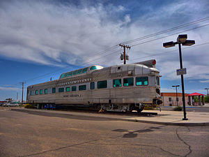 California Zephyr - Maricopa Train Station HDR.jpg