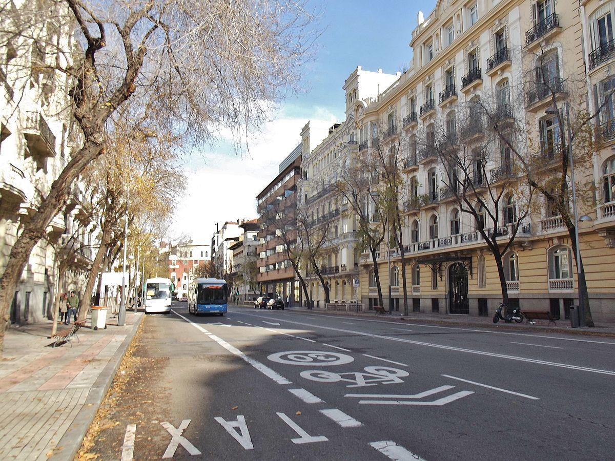 Calle de almagro wikipedia la enciclopedia libre for Calle del prado 9 madrid espana