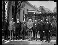 Calvin Coolidge and group outside White House, Washington, D.C. LCCN2016888345.jpg