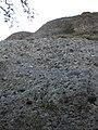 Camí equipat (petit tram via ferrada) a la cara NE del Pic de Perris, Serra de Picancel (abril 2012) - panoramio.jpg