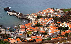 Câmara de Lobos - View of the centre of Câmara de Lobos