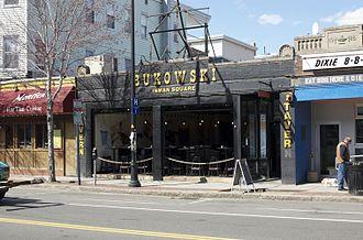 Inman Square - Bukowski Tavern on Cambridge St.