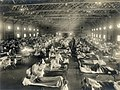 Camp Funston, at Fort Riley, Kansas, during the 1918 Spanish flu pandemic.jpg