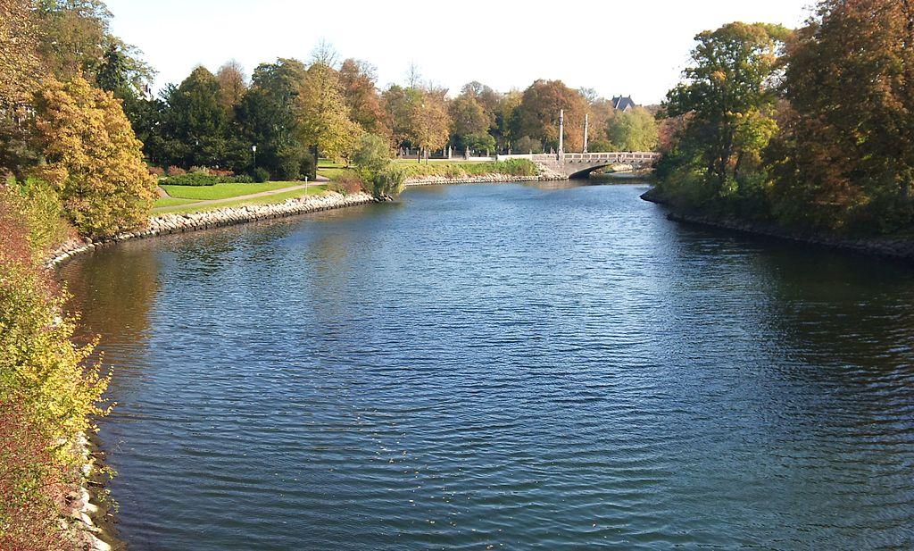 Canal, Kungsparken, Malmo