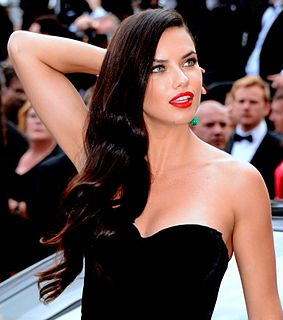 Adriana Lima Brazilian model and actress