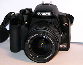Image illustrative de l'article Canon EOS 1000D