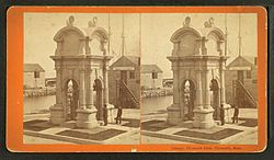 File:Canopy, Plymouth Rock, Plymouth, Mass, by Alden, A. E., 1837- 2.jpg. By: DcoetzeeBot