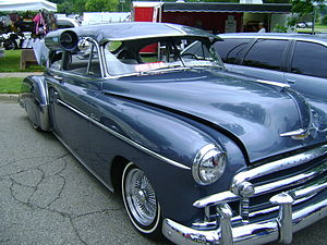 Car cooler - Car Cooler on 1950 Chevy