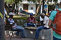 Card game, Cartagena, Colombia Street Scenes (24050823219).jpg