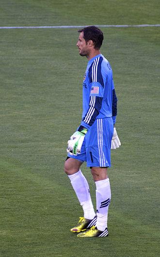 Carlo Cudicini - Playing for the LA Galaxy in 2013