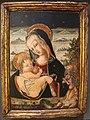 Carlo crivelli (bottega), madonna col bambino e s. onofrio.JPG