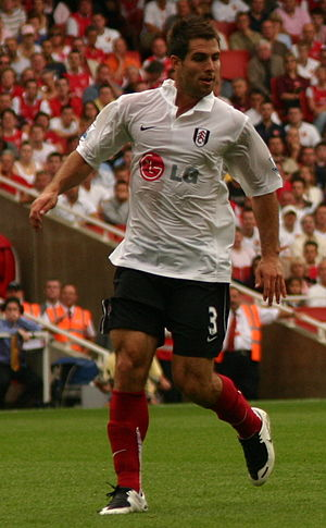 Carlos Bocanegra - Bocanegra playing with Fulham