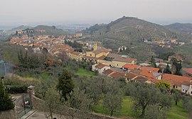 View of Carmignano