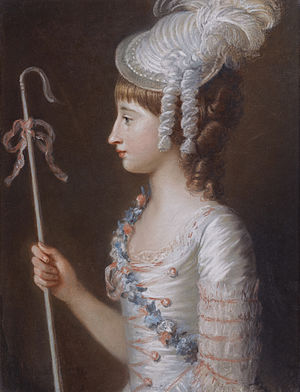 Thomas Brudenell-Bruce, 1st Earl of Ailesbury - Image: Caroline Anne Brudedenell Bruce (d 1824) by Mary Hoare (1744 1820)