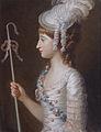 Caroline Anne Brudedenell-Bruce (d 1824) by Mary Hoare (1744 - 1820).jpg
