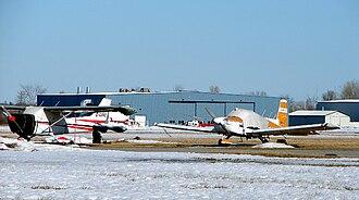 Carp Airport - Ottawa/Carp Airport ramp