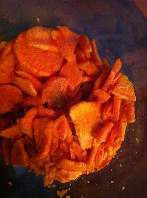 Carrot chips - Carrot Chips