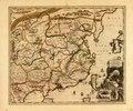 Carte exacte de toutes les provinces, villes, bourgs, villages et rivières du vaste et puissant empire de la Chine - faite par les ambassadeurs hollandois dans leur voyage de Batavia à Peking LOC 87691057.tif