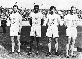 John Taylor (athlete) - Image: Cartmell, Taylor, Sheppard, Hamilton 1908