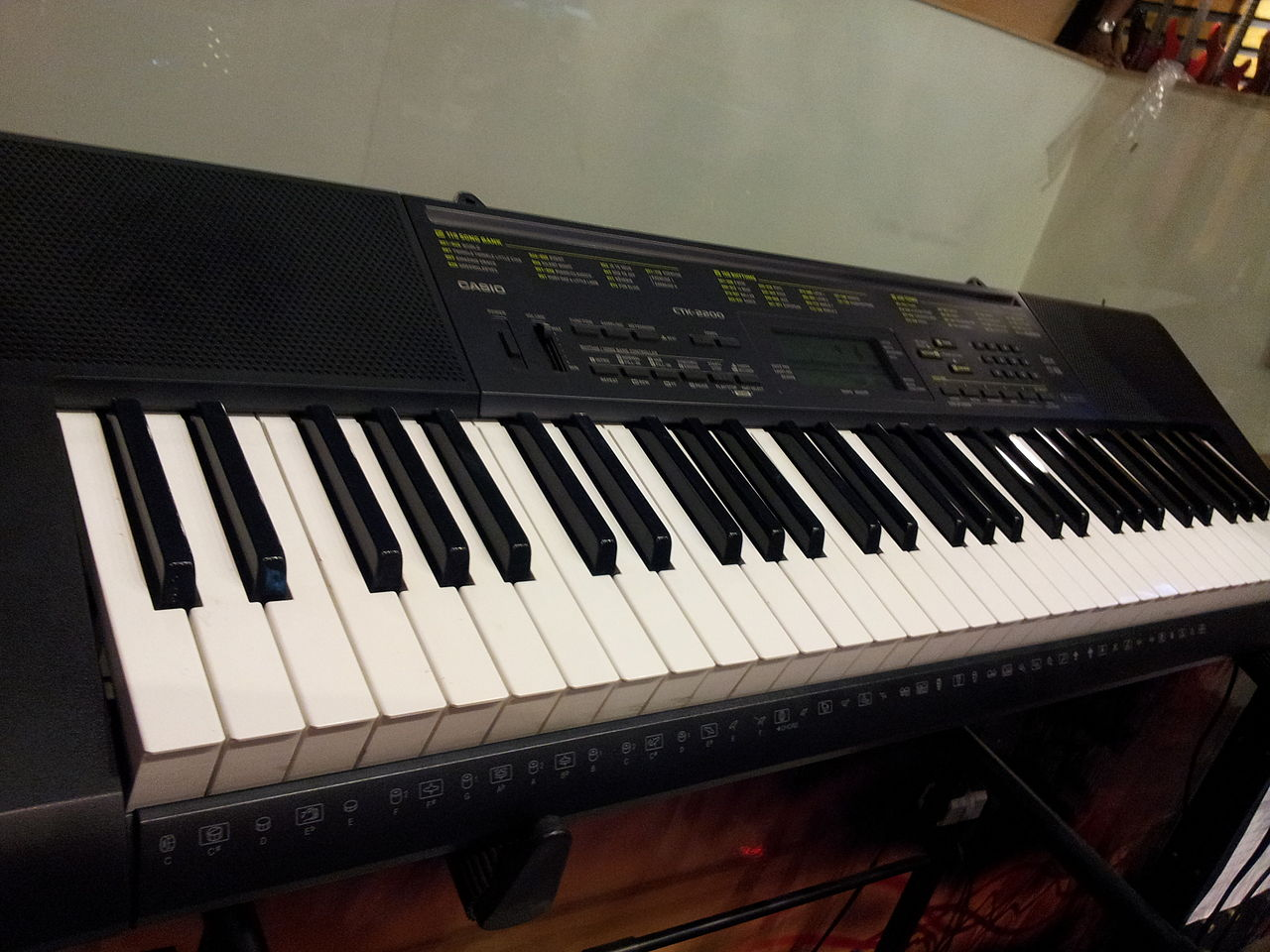 file casio ctk 2200 electronic piano keyboard wikimedia commons. Black Bedroom Furniture Sets. Home Design Ideas