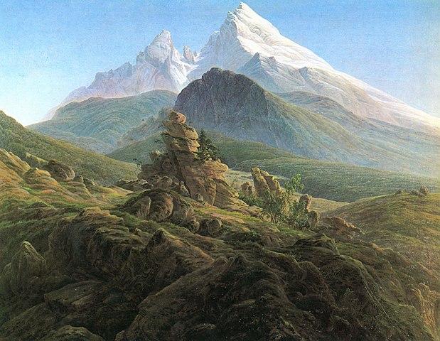 Der Watzmann, Caspar David Friedrich