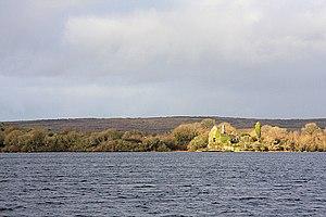 Kilnaboy - Inchiquin Castle seen across Inchiquin Lough