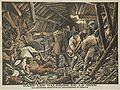 Catastrophe de Courrières - Les sauveteurs découvrent un amoncellement de cadavres.jpg