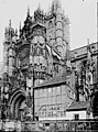 Cathédrale Notre-Dame - Transept à l'extérieur - Evreux - Médiathèque de l'architecture et du patrimoine - APMH00033723.jpg