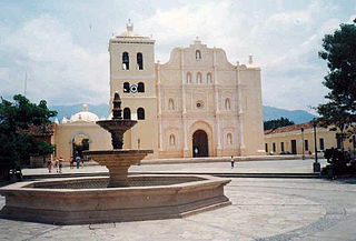 Comayagua City in Honduras