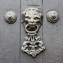 Cathedral of Lima - Door knocker.jpg